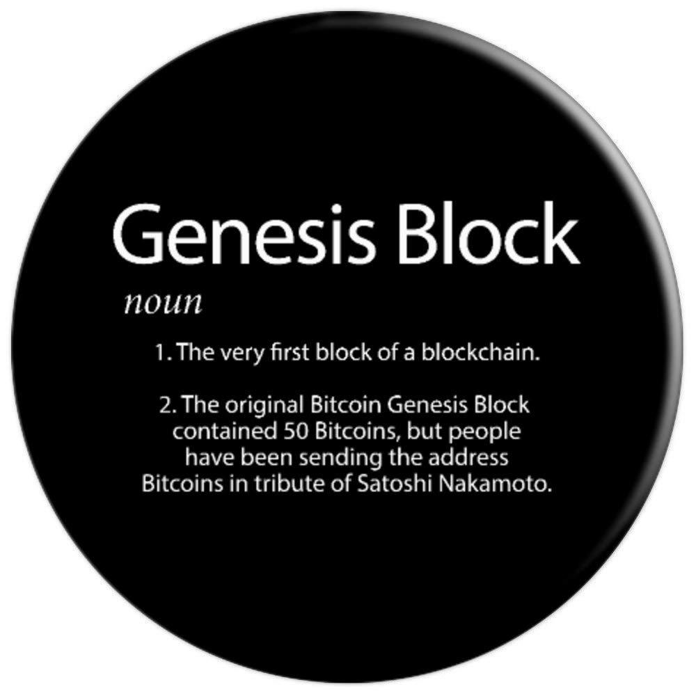 Amazon.com: Bitcoin BTC Genesis Block Definition ...