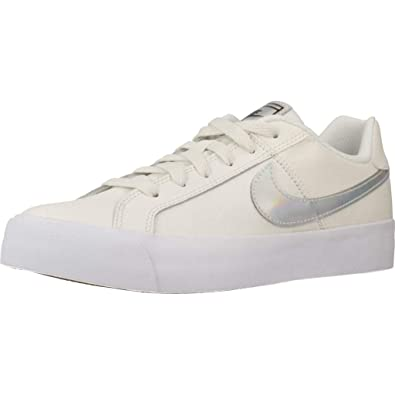 best loved 11682 a8661 Nike COURT ROYALE AC, Women s Sneakers, Multicolour (Sail White-Black-