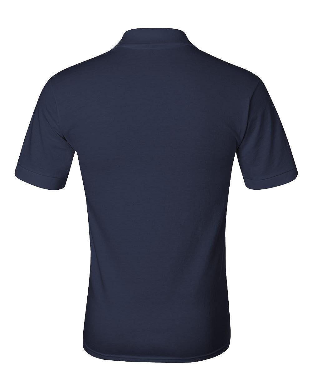 Jerzees Mens Heavyweight Welt Knit Collar Jersey Polo Shirt
