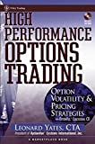Best Wiley Books On Option Tradings - High Performance Options Trading: Option Volatility & Pricing Review