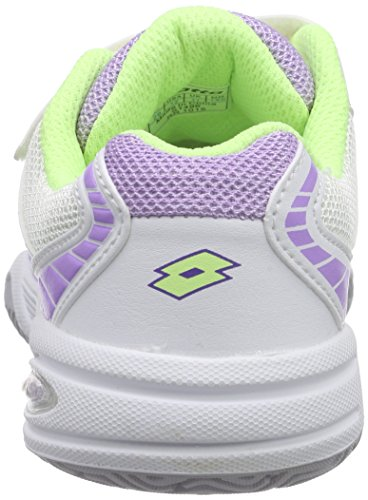 LottoSTRATOSPHERE III CL S - Zapatillas de Tenis Niños-Niñas Blanco - Weiß (WHT/YLW NEO)