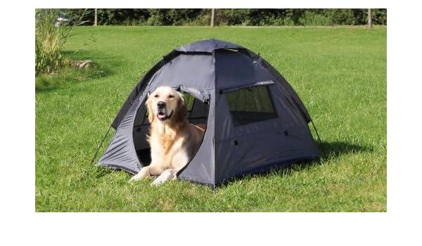 Trixie Tienda de campañ poliéster para mascotas, color gris, 88 x 72 x 115 cm: Amazon.es: Productos para mascotas