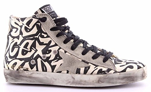 Zapatos Hombres Sneakers GOLDEN GOOSE G26U591.T1 Francy White Writer Colors In