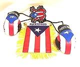 Puerto Rico flag accessories