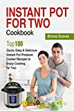 Instant Pot For Two Cookbook: Top 100 Quick, Easy & Delicious Instant Pot Pressure Cooker Recipes to Enjoy Cooking for Two