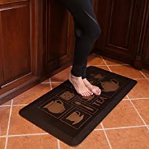 Butterfly Kitchen Mat Anti Fatigue Comfort Floor Mats - Perfect For kitchen and Standing Desks, Non-Toxic, Highest Quality Material, Waterproof, 20 x 39 inches, Antique