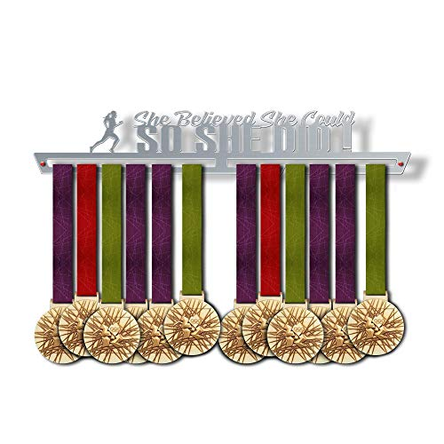 Believed She Could, So She Did! Medal Hanger Display ()