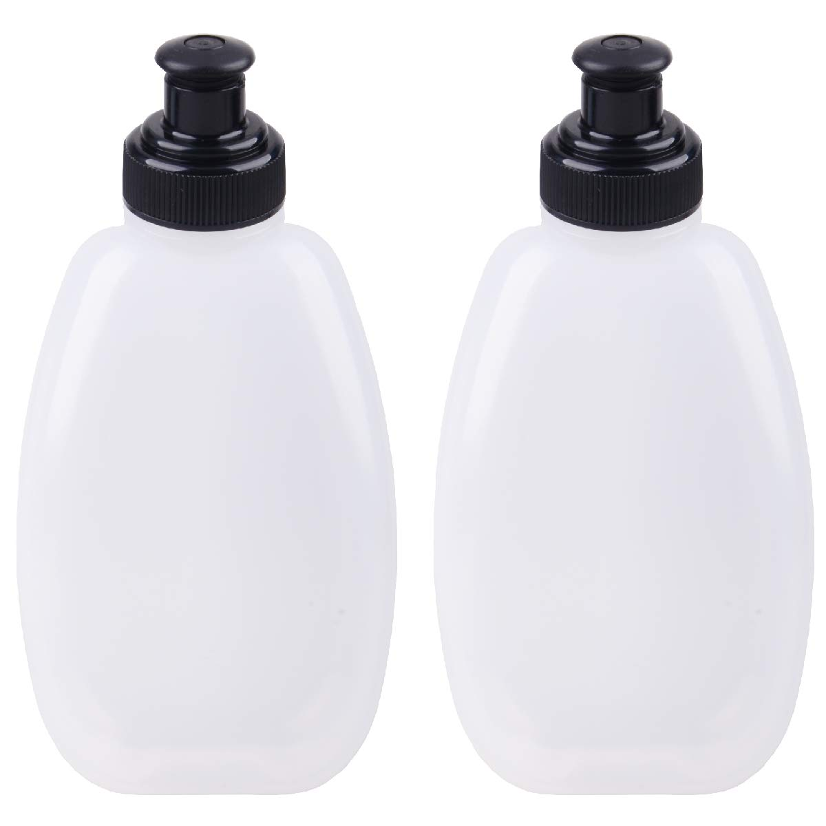TRIWONDER BPA-Free Leak-Proof Water Bottles Running Flasks for Hydration Belt or Vest Ideal for Running Hiking Cycling