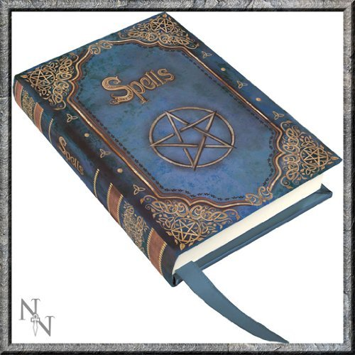 Pacific Giftware Luna Lakota Pentagram Spells Blue 4