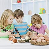 hblife Bright Cool LED Light Egg Candler Tester for All Egg Type, Powered by Power Cord Only
