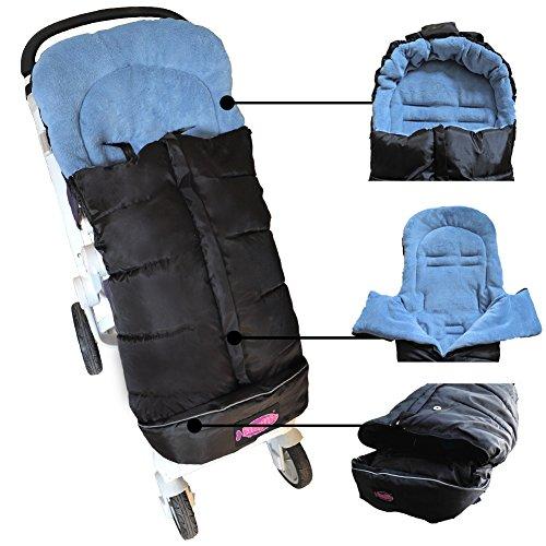Baby Sleeping Bag, Unisex Comfort Sleeping Sack, Soft Anti-kicking Sleeping Nest, Waterproof,Anti-Slip,Extendable,Multifunction Use For 6-36M Baby by pro camp