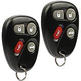 Car Key Fob Keyless Entry Remote fits 2000 2001 2002 2003 2004 Saturn L200, LW200, L300, LW300 (LHJ009), Set of 2