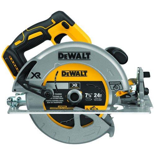 "DEWALT DCS570B 7-1/4"" (184mm) 20V Cordless Circular Saw with Brake, Baretool"