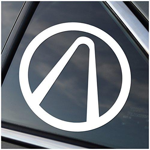 Borderlands Vault Decal Sticker White (cars, laptops, windows) (Vault Symbol)