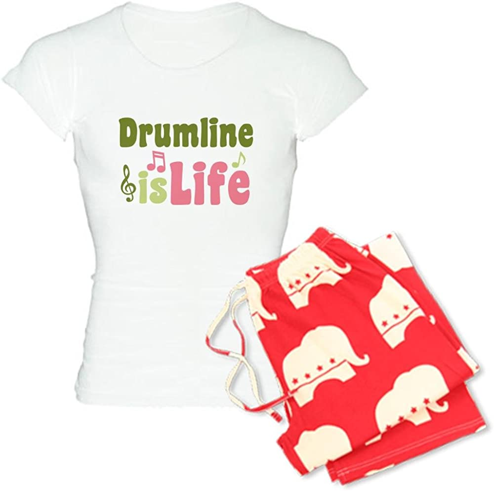 CafePress Drumline is Life Womens Light Pajamas Womens PJs