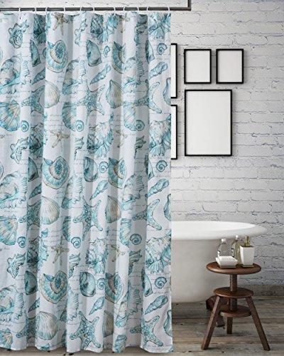 (Barefoot Bungalow Cruz Coastal Shower Curtain, 72