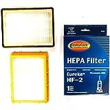 (3) Eureka HF2 Hepa Pleated Filter HF-2 Eureka Upright Ultra Smart, Boss, Omega, UltraSmart Vac Cyclonic, Whirlwind Vacuum cleaners, 61111, 61495, 61111A, 61111B, 61111C BY ENVIROCARE