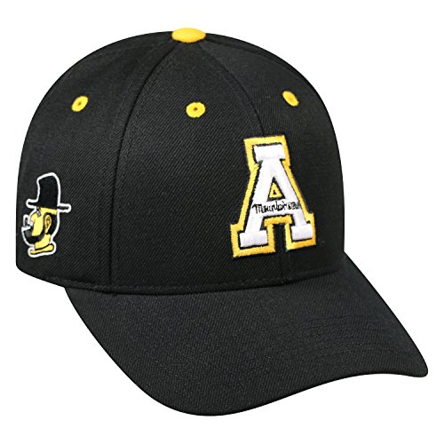 Top of the World Appalachian State Mountaineers Official NCAA Adjustable Triple Threat Hat Cap 097514