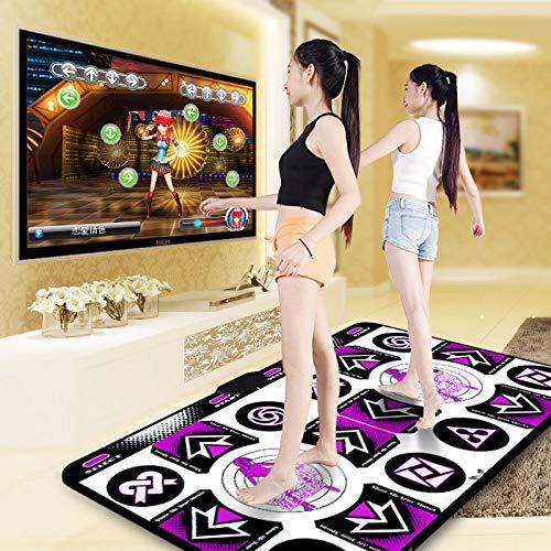 QXMEI Dance Mat Double TV Interface Computer Dual-use Somatosensory Game Console 48.534.511.5cm by QXMEI (Image #2)