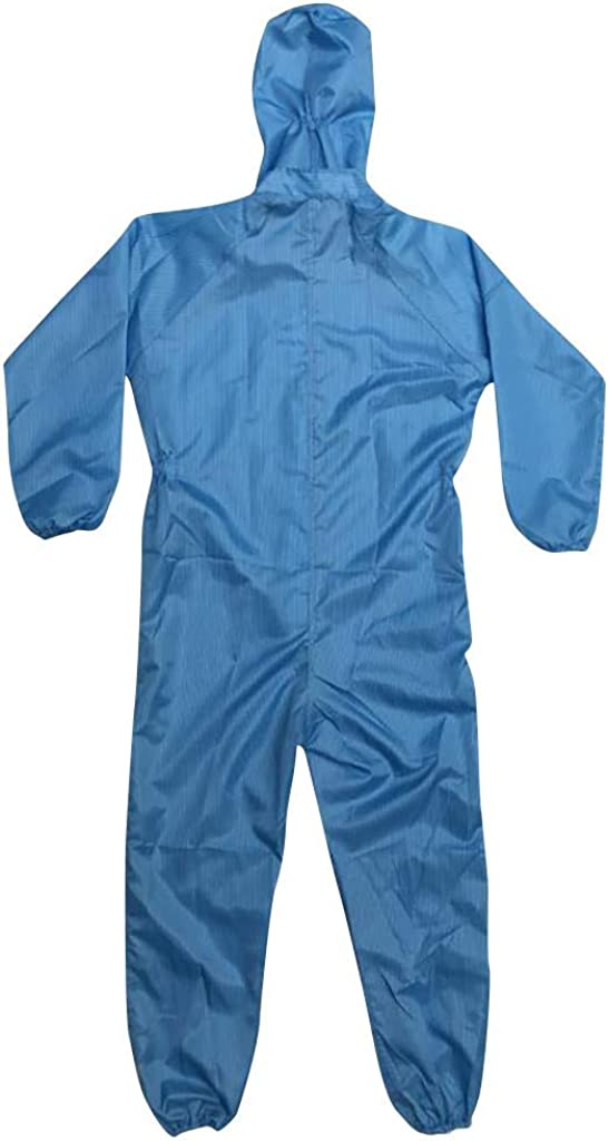 SANGQU Unisex Protective Overall Suit Protective Isolation Coverall Clothing Waterproof Dust-Proof Protective Jumpsuit Set