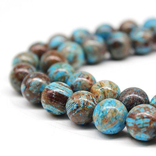 Crazy Lace Agate Round Beads - 4