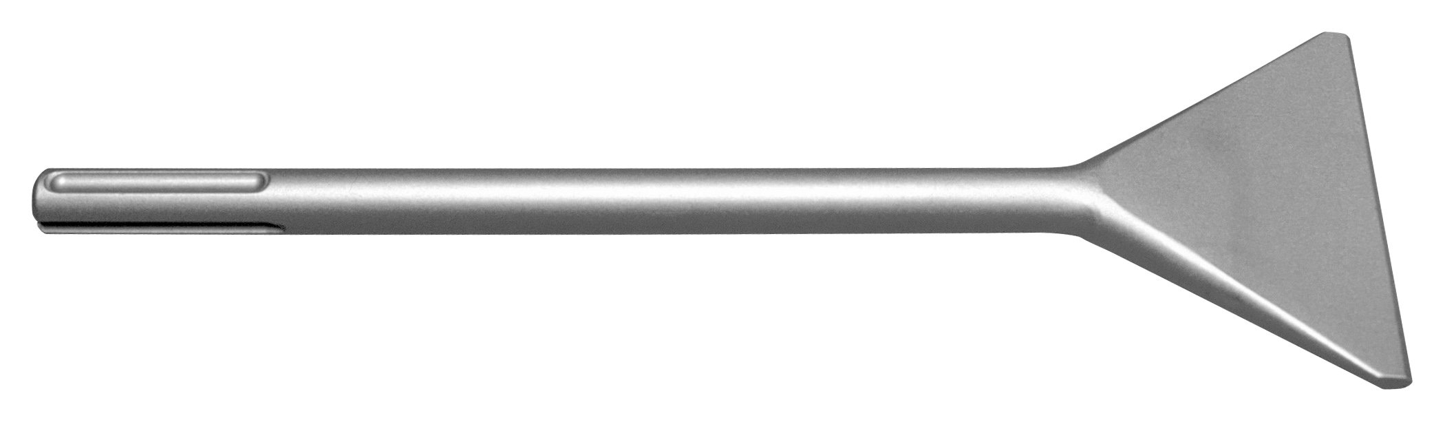 Champion Chisel, 12-Inch Long, 4-Inch Wide Jumbo SDS-MAX Flat Chisel, Double Beveled Working Edge by Champion Chisel Works (Image #1)