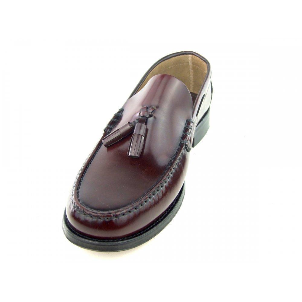 CABALLEROS GEORGETOWN beefroll Mocasín Con Borlas Mocasín Nuevo Versión - Burdeos, 10 UK: Amazon.es: Zapatos y complementos