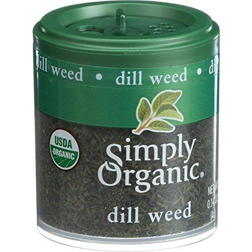 SIMPLY ORGANIC MINI DILL WEED ORG, 0.14 OZ, PK- 6