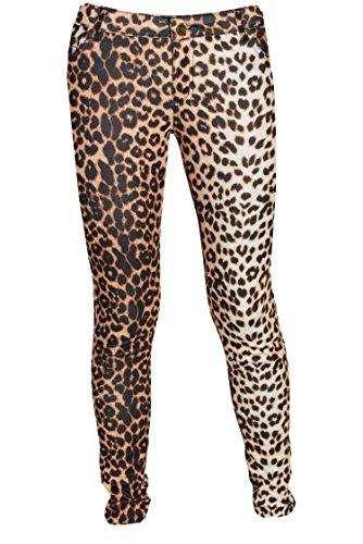 Leopard Print Jeans - 9