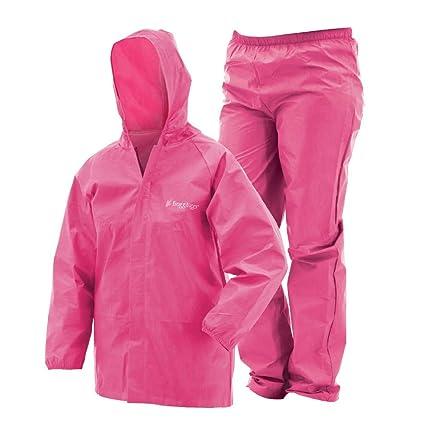 b1de576c9 Frogg Toggs Youth Ultra-Lite2 Rain Suit (UL12304): Amazon.ca: Sports ...