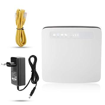 Enrutador inalámbrico 4G CPE, enrutador WiFi Dual Hotspot ...