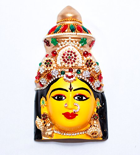 Daedal crafters- Varamahalakshmi face mask(Fiber) DC31 for sale  Delivered anywhere in USA