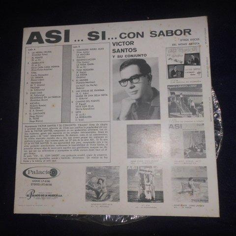 Victor Santos Y Su Conjunto – Asi... Si... Con Sabor Formato: Vinyl, LP, Stereo, Album by Palacio