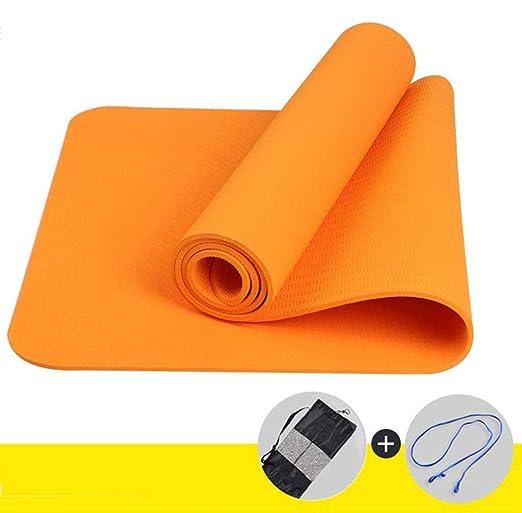 Alfombrilla de yoga antideslizante: alfombrilla de fitness ...