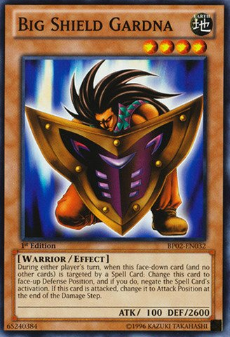 Yu-Gi-Oh! - Big Shield Gardna (BP02-EN032) - Battle Pack 2: War of the Giants - 1st Edition - ()