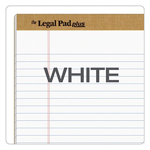 TOPS The Legal Pad Plus Writing Pads, 8-1/2'' x 14'', Legal Rule, 50 Sheets, 12 Pack (71573) by TOPS (Image #5)