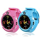 Smart Watch For Children Kids Silicone Q610s 400mah Touch Gps Tracker Phone Girls Boys With Pedometer Camera Sim Calls Anti-lost Sos Bracelet Smartwatch Lovely Gift Digital Watches Lbs Wifi Locator