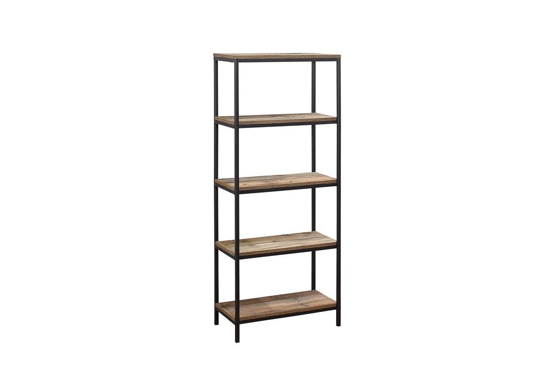 Birlea Urban 3 Tier Bookcase, Wood, Rustic Birlea Furniture Ltd. URB3TBCRUS