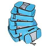 Bagpake 6 Set Packing Cubes-Travel Luggage -2 Extra large,2 Medium,2 Small