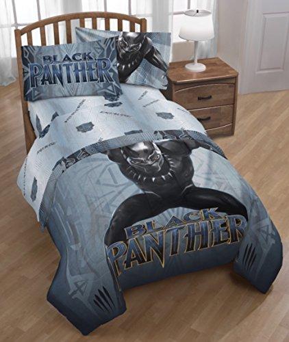 (Franco Manufacturing Black Panther Full Sheet Set #6549182756)
