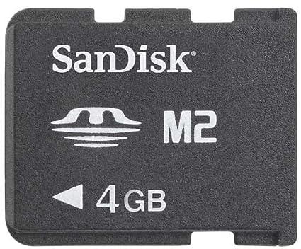 SanDisk M2 - Tarjeta de Memoria MS de 4 GB
