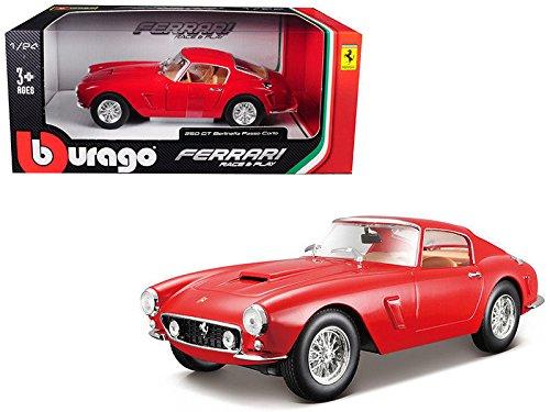 Ferrari 250 GT Berlinetta Passo Corto Red 1 24 Diecast Model Car by Bburago 26025