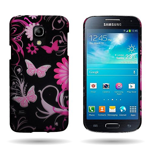Galaxy S5 Mini Case, CoverON for Samsung Galaxy S5 Mini Hard Design Case [Slender Fit Series] Slim Polycarbonate Back Phone Cover (Will Not Fit Other S5 Models) - Pink Butterfly (Samsung Galaxy S5 Mini Tough Case)