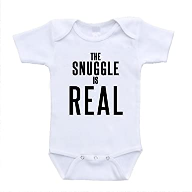 ad95e53f4 The Snuggle Is Real baby infant toddler bodysuits onesies one piece retro  designer fashion babywear (