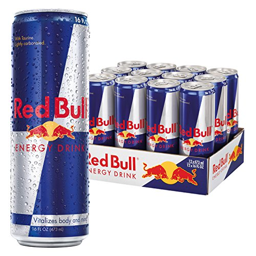 Red Bull Pack (Red Bull Energy Drink, 16 Fl Oz Cans, 12 Pack)