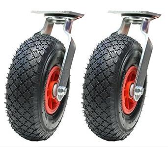 """2-10""""pulgadas 260mm ruedas giratorias ruedas neumático ..."""