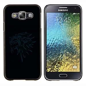 EJOOY---Cubierta de la caja de protección para la piel dura ** Samsung Galaxy E5 E500 ** --Thones Gryphon Head