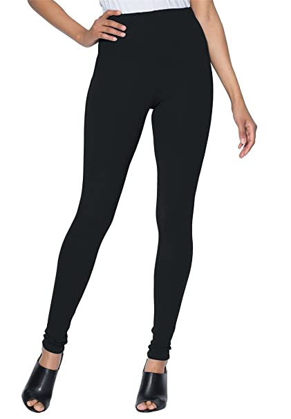 c8d4680c3c8 Roamans Women s Plus Size Petite Essential Stretch Legging at Amazon ...