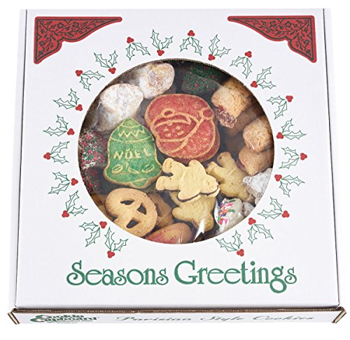 David's Cookies European Holiday Cookies – 2.5-lb. box Christmas Cookies