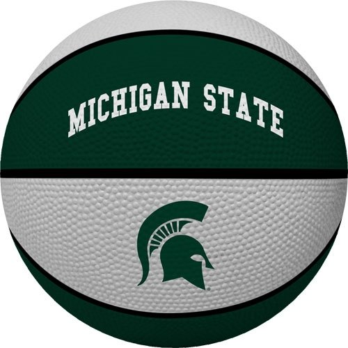 Michigan State Spartans Basketball - NCAA Michigan State Spartans Crossover Full Size Basketball by Rawlings